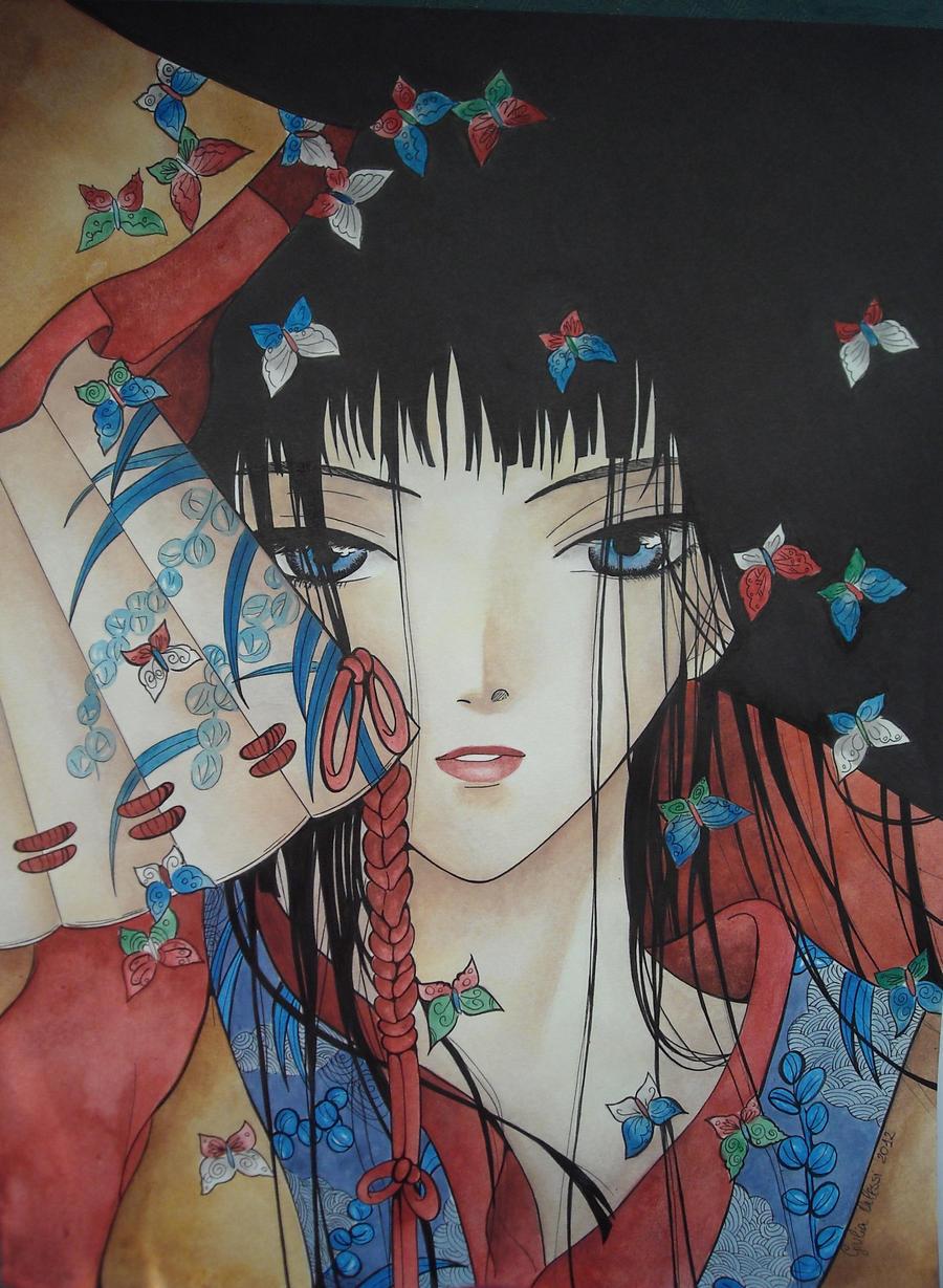 Geisha by giulystar-chan