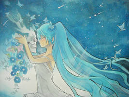 Hatsune Miku by giulystar-chan