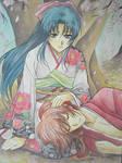 Rurouni Kenshin - Kenshin and Kaoru