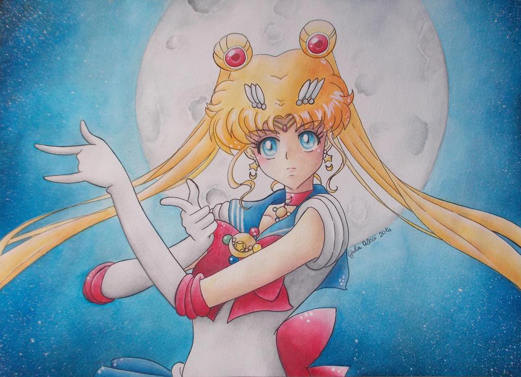 Sailor Moon Crystal by giulystar-chan