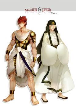 Masrur and Ja'far