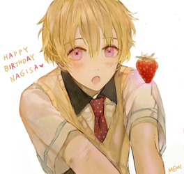happy birthday Nagisa ! by Memipong