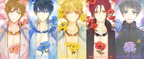 free FLOWERS by Memipong