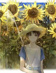 Summer flower by Memipong