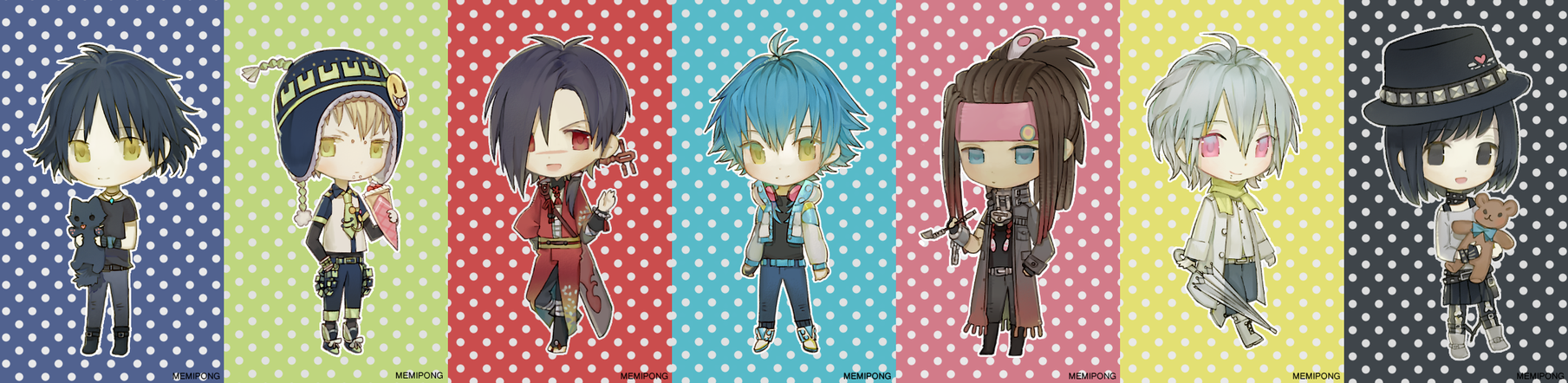 chibi practice on DMMd by Memipong