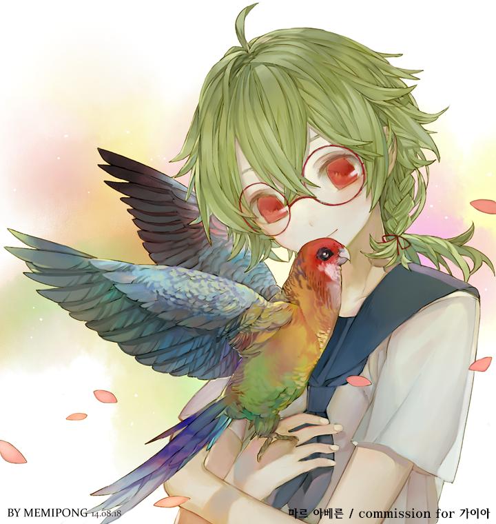 parrot by Memipong
