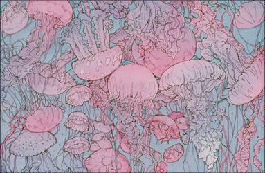 jellyfish (cut) by Memipong