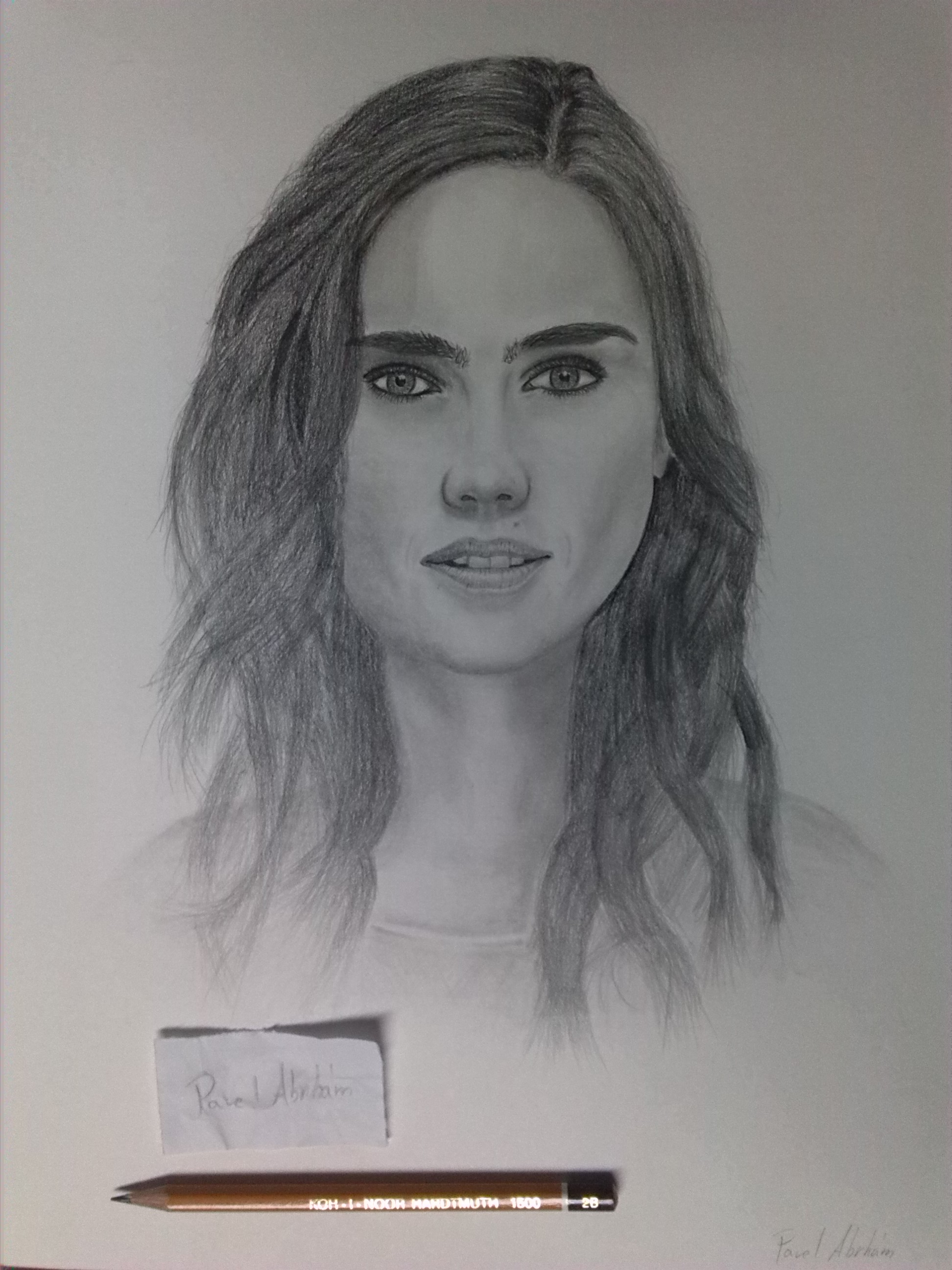 Jennifer Connelly by Pavel-Abrham