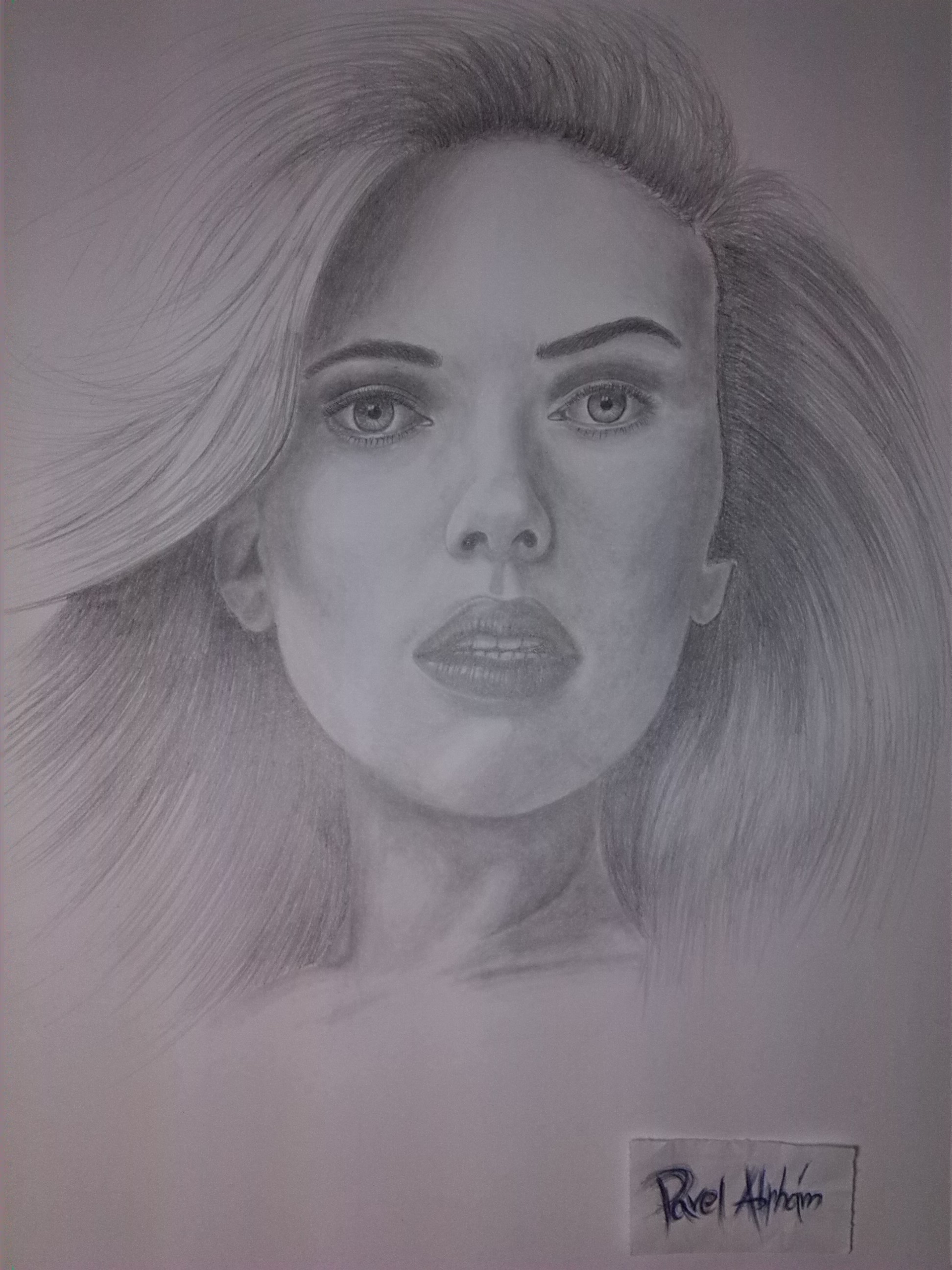 Scarlett Johansson by Pavel-Abrham