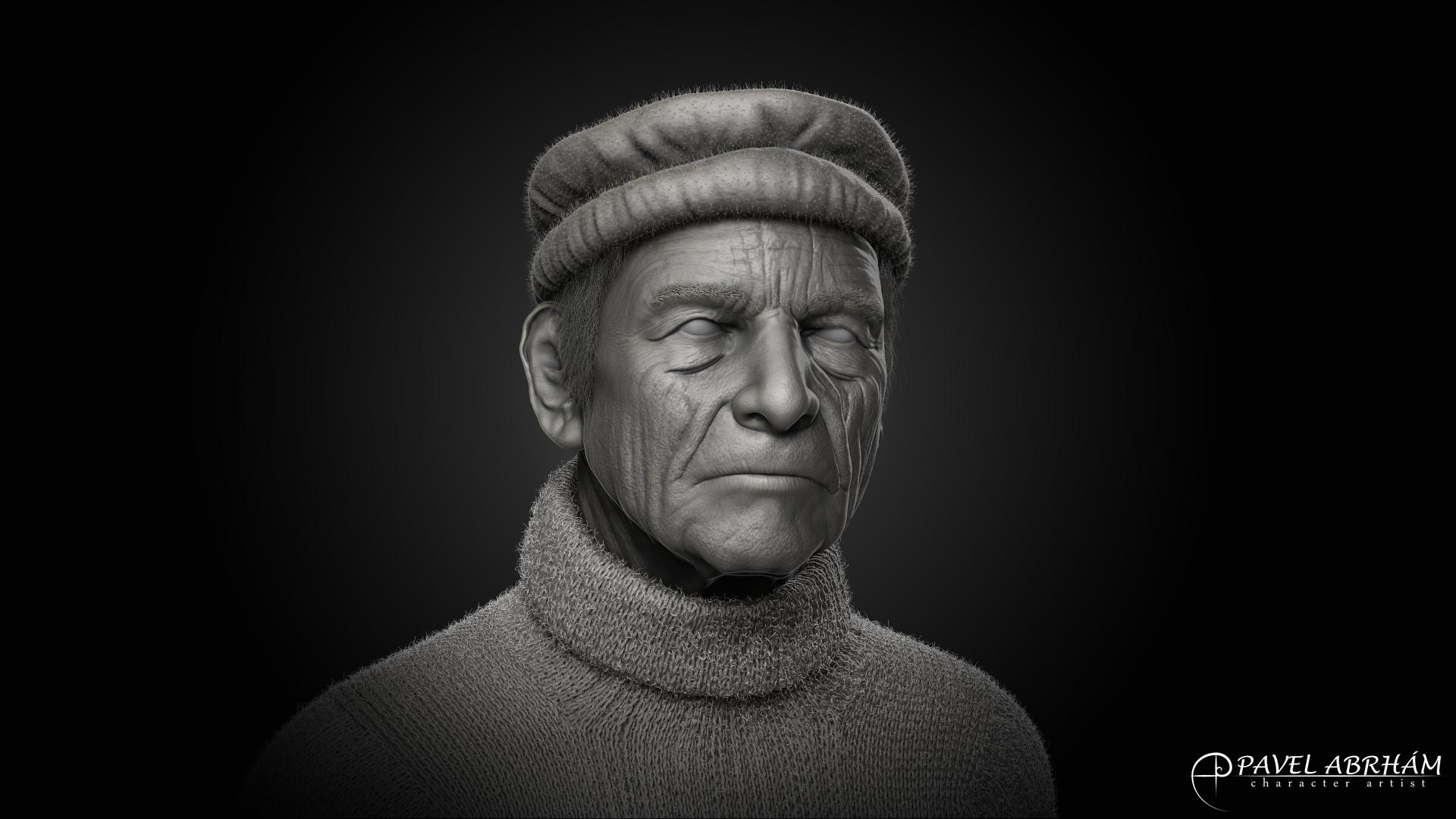 Old man by Pavel-Abrham