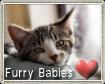 Furry Babies Stamp by AnnaKirsten