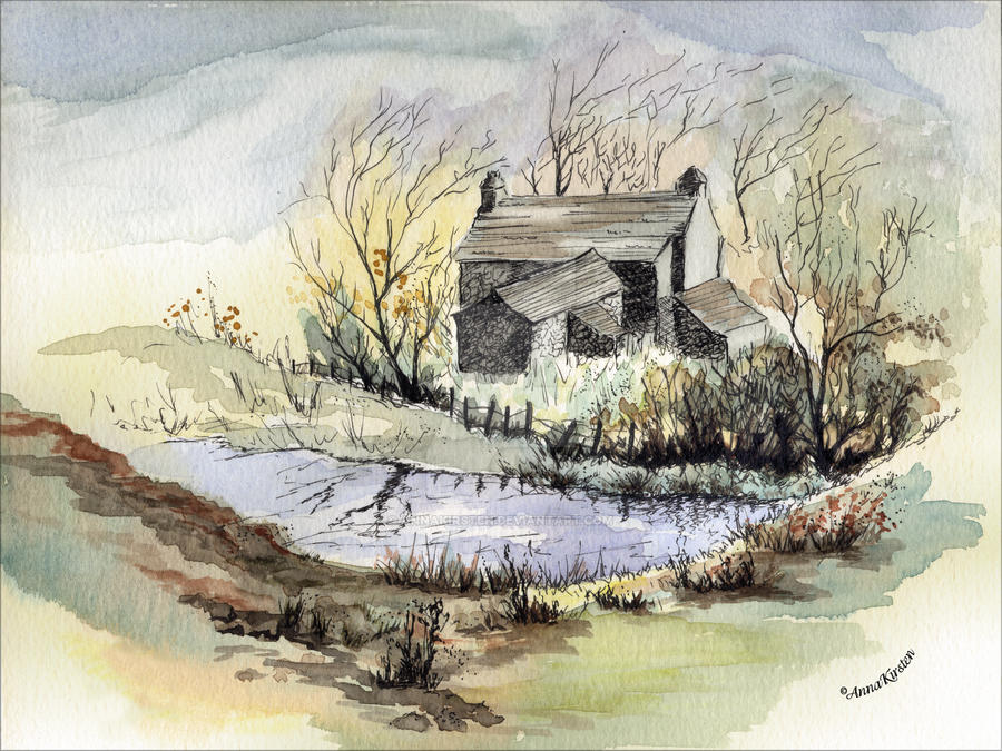 The Little Cottage by the Pond
