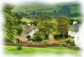 Cottages at Troutbeck by AnnaKirsten