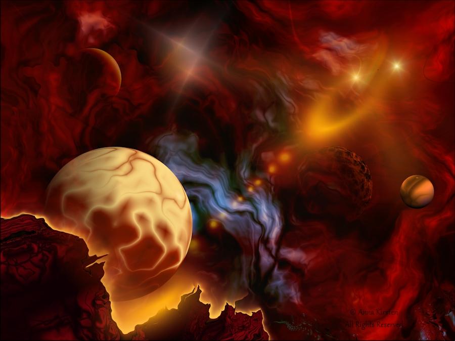Molten Universe by AnnaKirsten