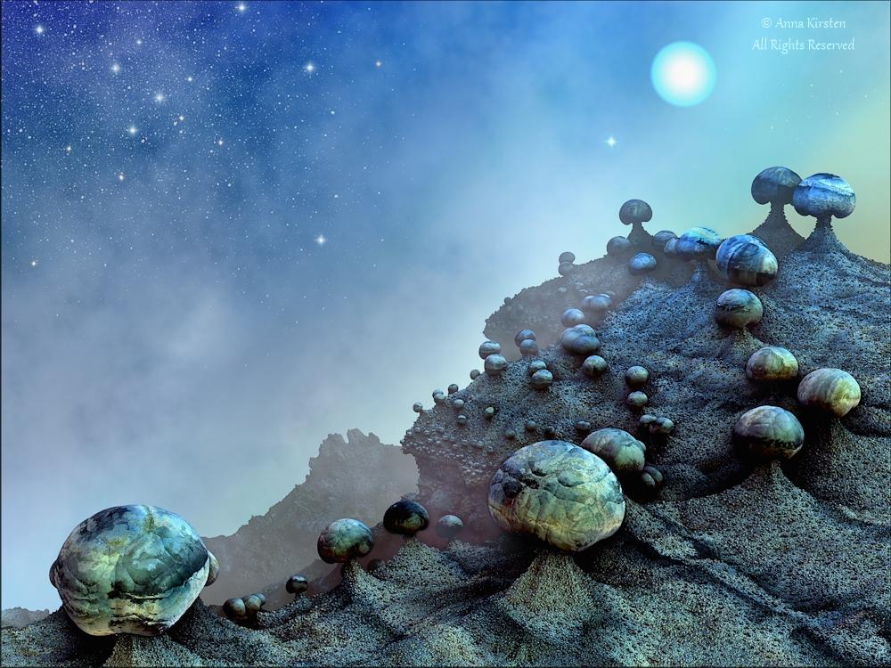 Philosophers Mountain by AnnaKirsten