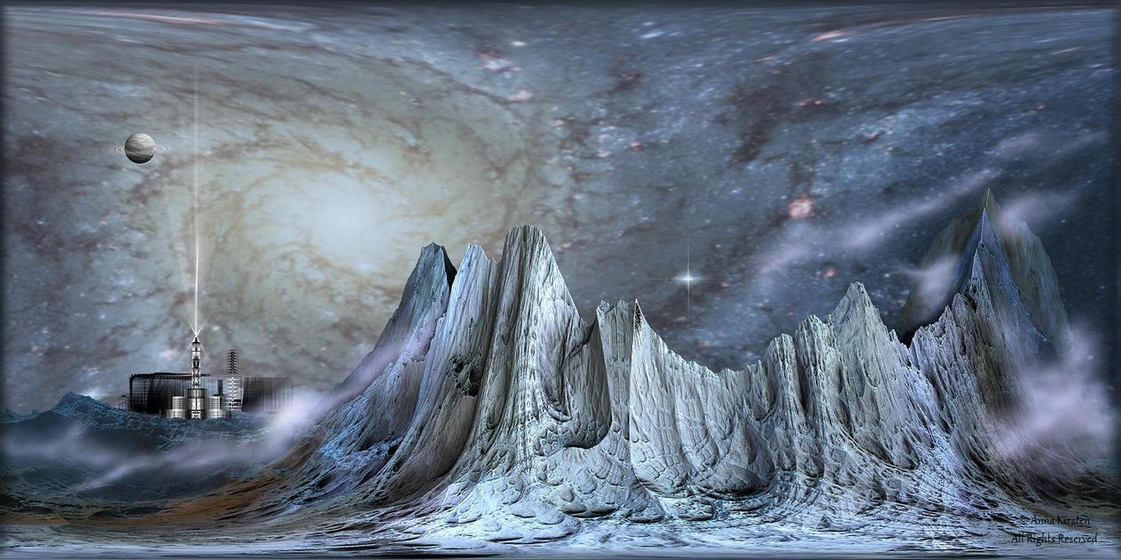 Space Settlement by AnnaKirsten
