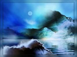 Night of Cerulean Lights by AnnaKirsten