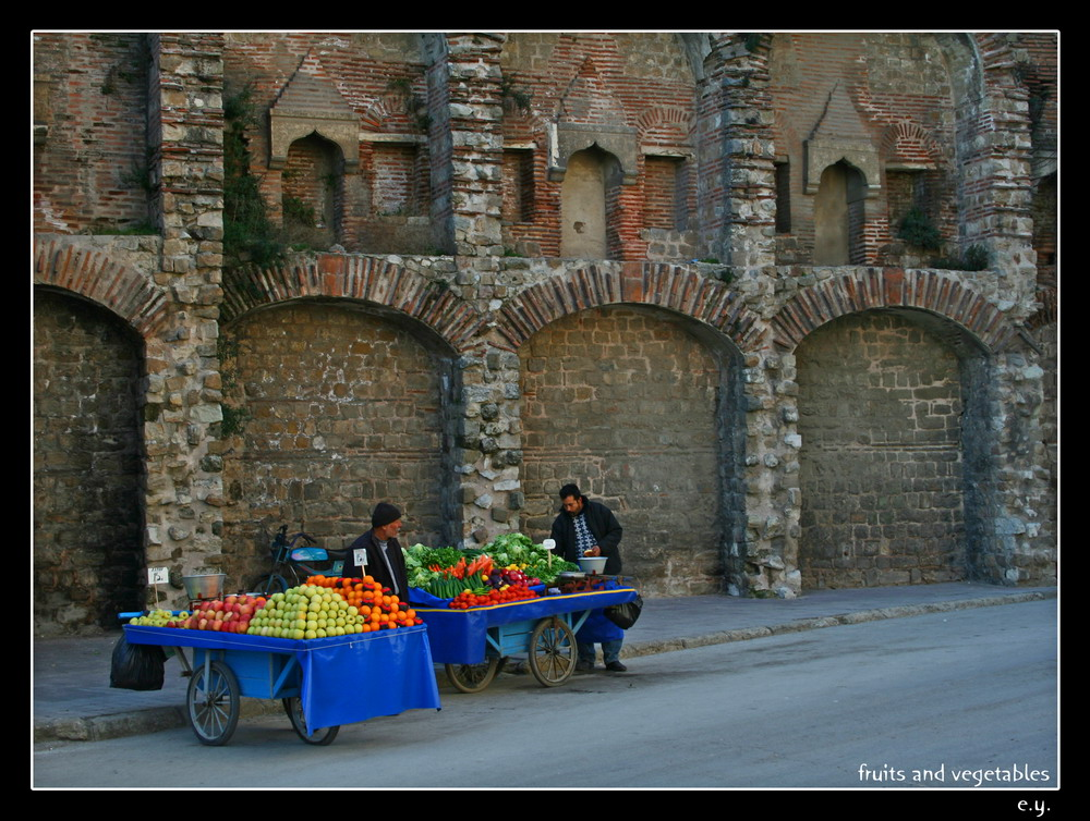 Fruits and Vegetables by erman y