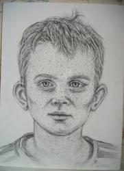 Redheaded Child Sketch