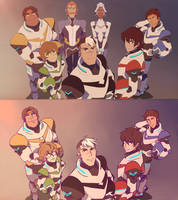 Voltron Redraw by iRollwithit