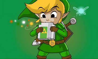 Link playing a new instrument by O2HWaraWara