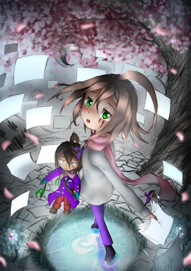 Paper dreams _ ixLu by xLudo8D