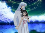 Calles nocturnas Sesshomaru and Rin by Atori-chan