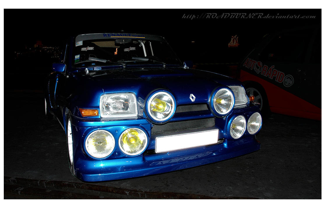 Renault 5 Turbo Replica by