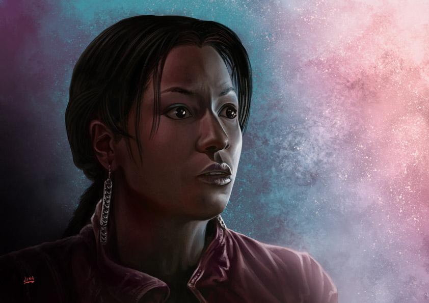 True Blood Tara by Lun-art