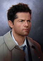 SupernaturalCastielW by Lun-art