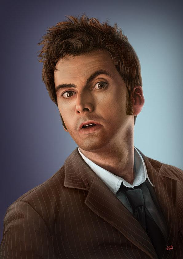 Docteur Who Docteur David by Lun-art