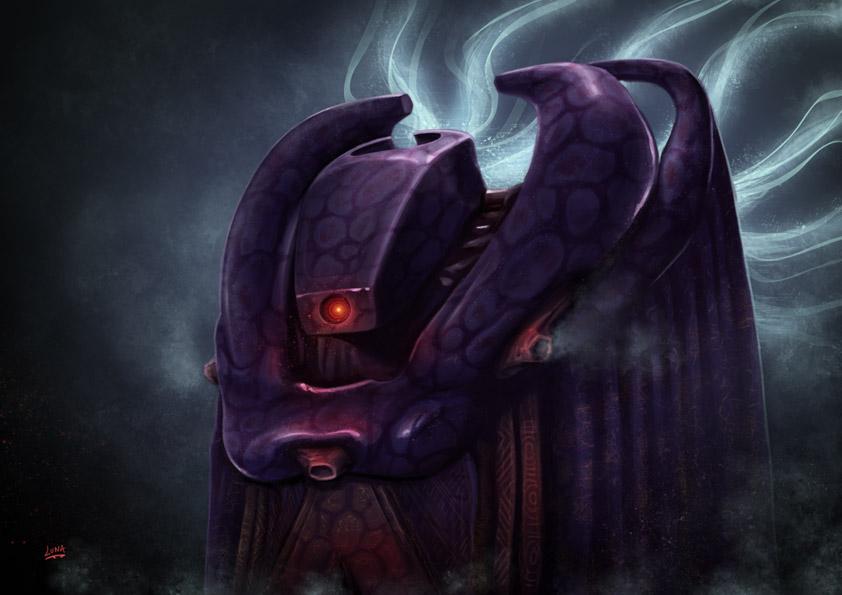 Babylon 5 Bad Vorlon by Lun-art on DeviantArt