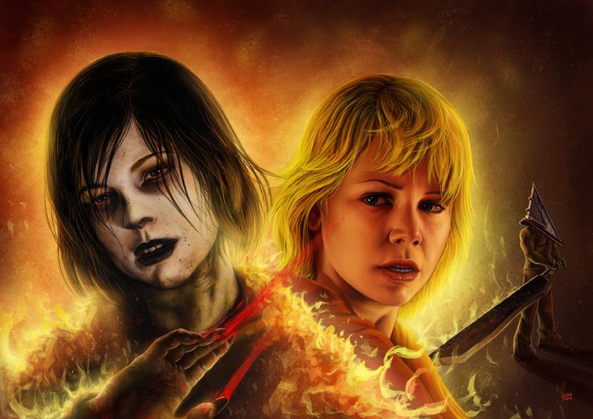 Silent Hill Revelation by Lun-art