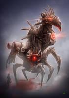 Hawk Cybot by Lun-art