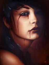 Mina Lubava by Lun-art