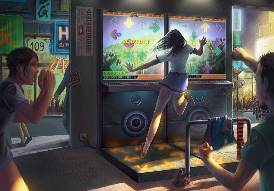 Ultimate Dance Dance to the Perfect Score ! by Lun-art