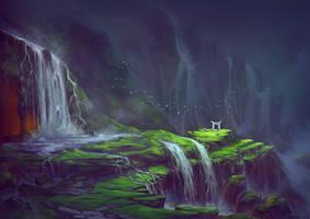 Lost Torii by Lun-art