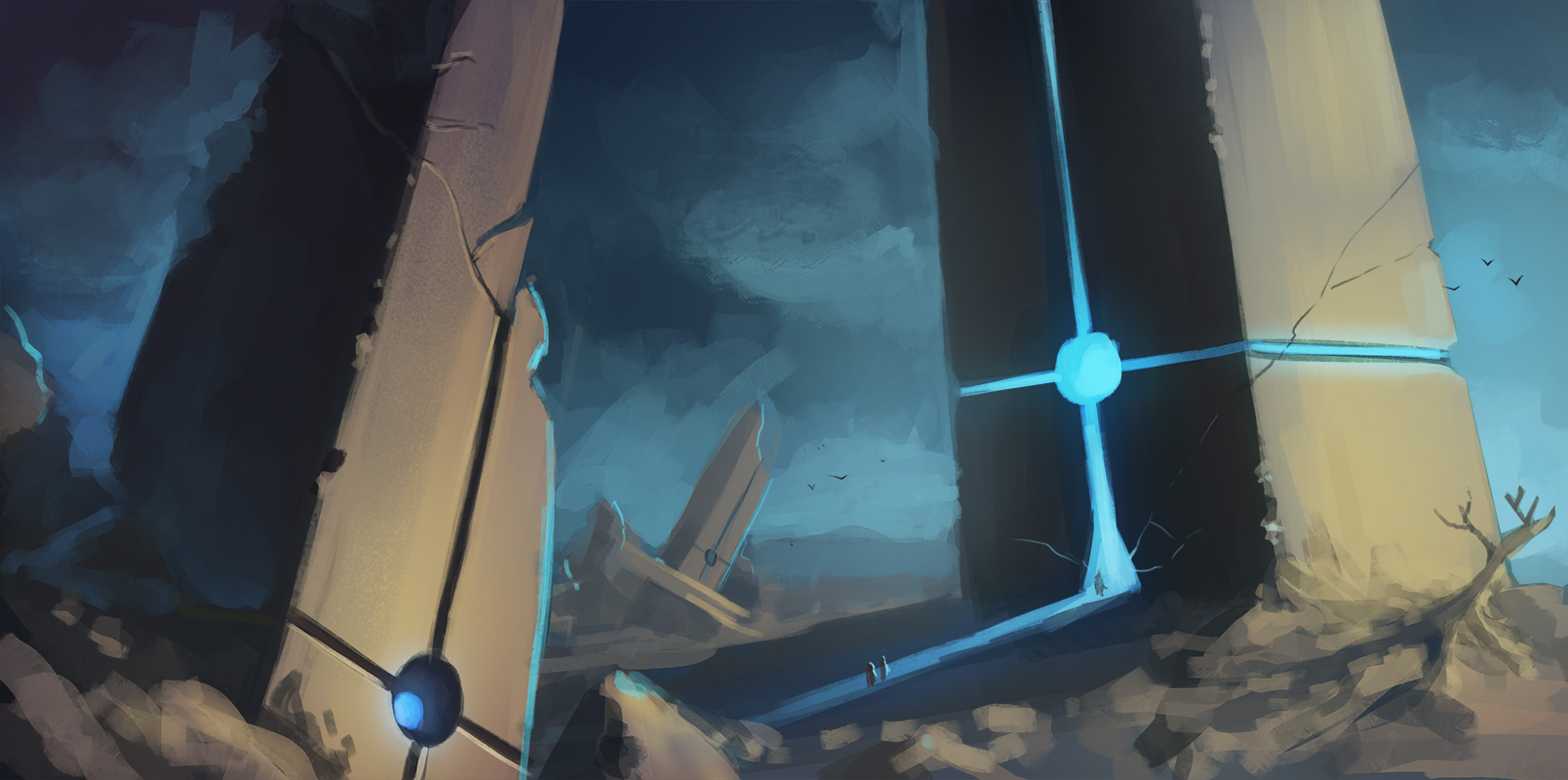 Gatescape Speed Paint by Lun-art