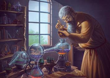 Alchimist - Chant de Loss by Lun-art
