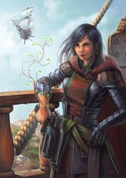 Captain volt by Lun-art