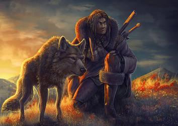 Dog's Hunter by Lun-art