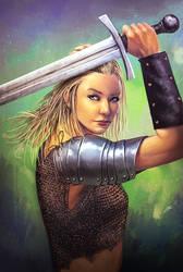 Warrior Girl - Speedpaint 2H
