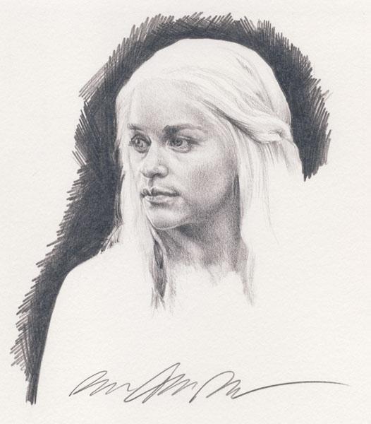 Emilia Clarke as Daenerys Targaryen by smoothdaddyride