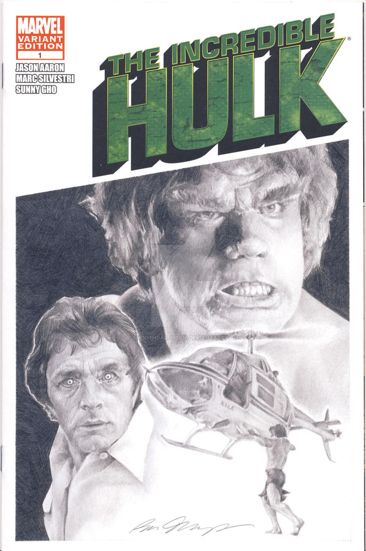Incredible Hulk blank sketch cover commission by smoothdaddyride