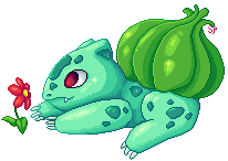 #1 - Bulbasaur by sugarpotato