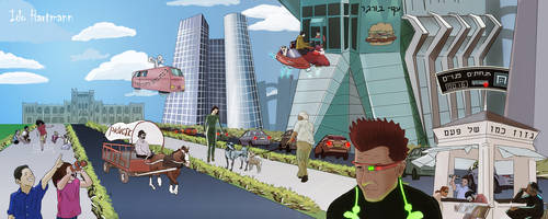 Hertime - Tel Aviv of the Future by IdoHart