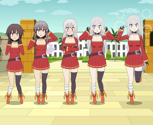 [Rq] Tf Sequence - Megumin to Emilia