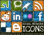 Social Network Icon Set