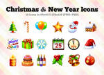 Christmas + New Year Icons