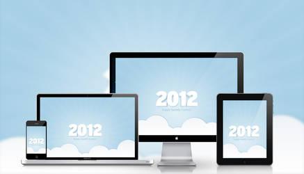 2012 Desktop Wallpaper by hongkiat